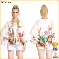 Ethnic Print Cardigan Matching Skirt and Tops Wholesale Clothing Dubai