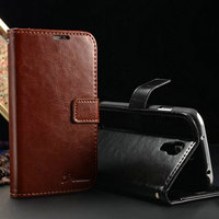 Hot Selling Luxury PU Leather Protective Phone Case for Samsung S4