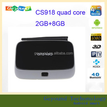2GB Ram 8GB Rom RK3188 Quad Core CS918 Android TV Box