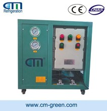 R600A/R290 oil-free compressor explosion proof recovery Unit CMEP6000 for hydrocarbon refrigerant R1234yf/R32 at factory price