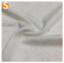 hot sell rayon linen spandex knitted single jersey fabric for garment