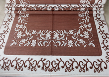 mass producing for the plastic foldable jacquard mat