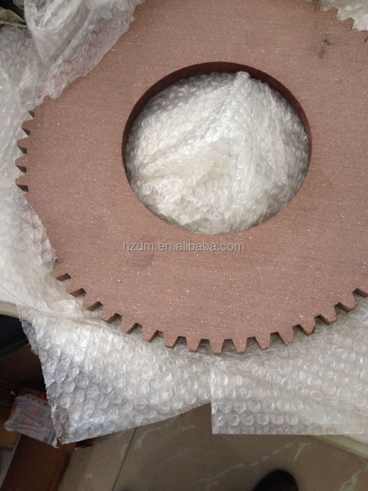 Round Friction Disc : Free asbestos friction disc plate for clay brick
