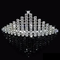 Fashion wholesale custom crowns tiaras for bride