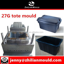 27 gallon tote mould for export