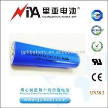 3.6V lithium battery ER341245 DD size 36Ah