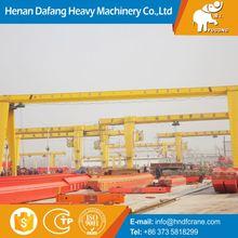 Heavy Equipment Crane 30Ton Gantry Crane Price Lightweight With Elctric Hoist
