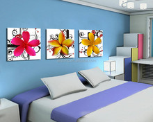 wall flower 6*60*3 pieces for wall hanging wholesale