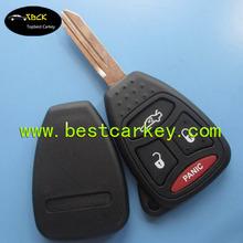 Good Price 3+1 buttons remote key blanks wholesale for key chrysler chrysler key case