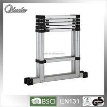 combination aluminum ladder&rubber feet with 6+6 steps