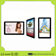 42 inch promotional LCD advertising display,High Resolution High Brightness Advertise Display,wall mounted AD display digital