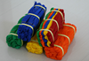 PE/PP color twine in hanks,fishing net twine rope/taian/3 strand rope twine