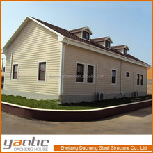Home Design Low Cost Prefabricated American Style House/prefab homes