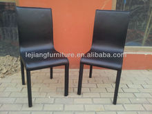 hard PVC KD assembly easy cheap dining room chair