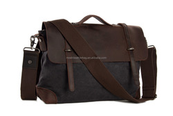 Canvas Messenger Cross Body Shoulder Bag