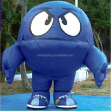 NB-CT20473Ningbang inflatable blue cartoon with angry eyes for outdoor activity or promotion