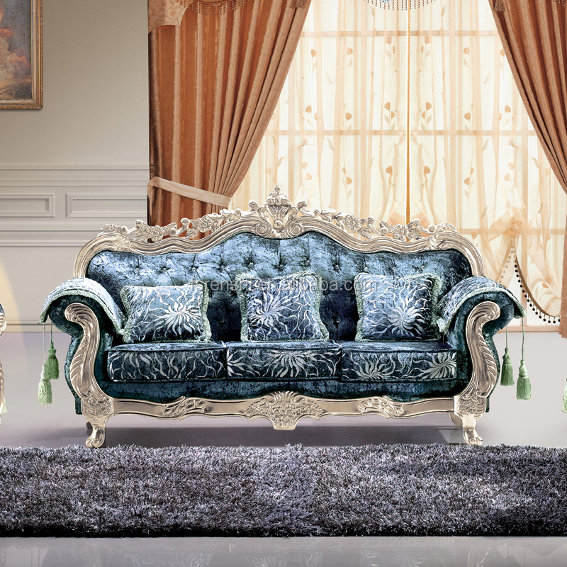 Cheap carved indian sofa set baroque furniture from home for Cheap baroque style furniture