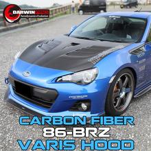 12-16 Carbon fiber hood Varis style For Toyota GT86 FRS/Subaru BRZ bonnet