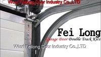 Garage Door Double Track Kits --- Non Rust, Galvanizing Treatment