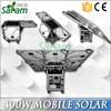 Portable 400w 220v solar power generator for home