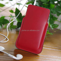 Genuine Top Cowhide for iPhone 5C Cover High Quality Pouch Wholesale