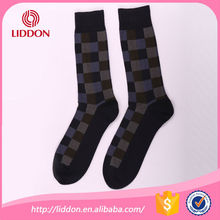 Argyle patterned business mens cosy black socks bulk wholesale free samples elite socks