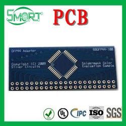 Happly sell!!!4-layer NiAu PCB with FR4 Base and 1.6mm Board Thickness,Custom-Made PCB Consumer Electronic Products&pcb for elec
