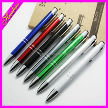 2015 new products in china cheap slim Custom logo printed twist ballpoint promotional ball pen