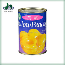 Fresh canned peach, canned yellow peach, canned fruit