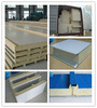 Sandwich panel with PU insulated panel for roof and wall