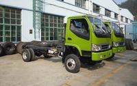Dongfeng 4x4 3T Off Road Chassis /4WD Diesel Truck