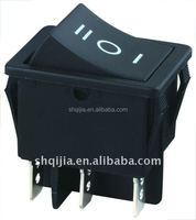 2pins 3pins on-on 3P on-off-on 6A 250V AC rocker switch KCD1-102N