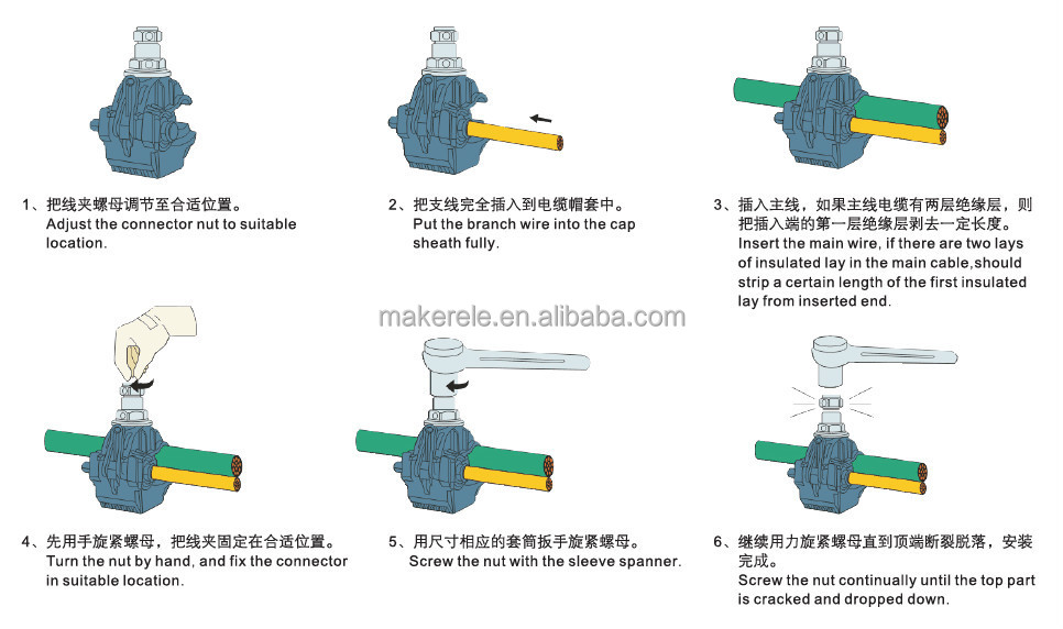 MK-IPCJJC-7-1 wire insulation electrical connectors automotive ...