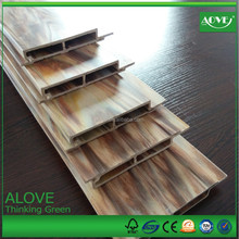 WPC wall board ECO friendly fireproof siding WPC panel 100% Recycled good price wood plastic composite decks