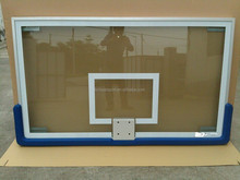 High quality tempered Glass basketball backboard