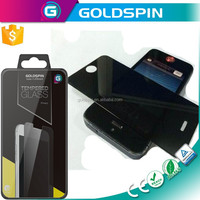 GOLDSPIN Trade Assurance Products! Privacy Tempered Glass Screen Protector For Apple iPhone5