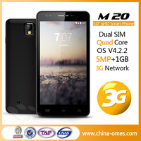 MT6582 M20 mobile phone China mobile phone with 5 inch QHD IPS quad core mtk6582 1GB Ram Mobile Phone
