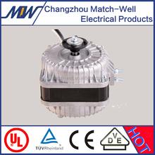 NEW!! CE Approved AC single phase range hood/freezer unit Aluminum shaded pole fan motor
