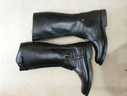 HORSE RIDDING LEATHER BOOTS