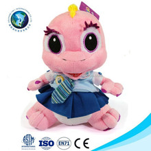 New stuffed animals toy cute big eyes dinosaur cartoon hamster plush toy animal