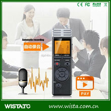 Portable FM radio outdoor voice recorder pen with greeting card