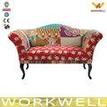 Workwell o mais barato sofá de tecido salão bed Kw-D4220