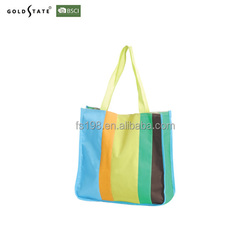 Customized High quality colorful cotton shopping bag