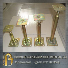 custom hot selling sheet metal color galvanized steel supporting bracket fabricated manufacturer