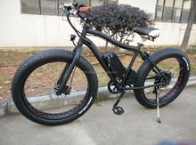 500W 48V lithium big power fat tire cheap electric bike / 26' fat mountain electric bicycle / chopper beach cruiser e bike