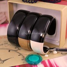 Ladies charm bluetooth fashion bracelet smart watch