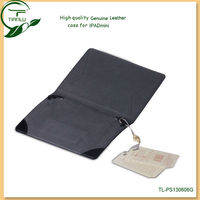 Genuine Leather Flip Case for ipad mini, various Colors customized is acceptable New Arrival, High Quality leather case