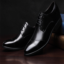 HFR-TS34104 2015 new fashion men's soft leather dress shoes