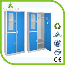 Popular Modern Changing Room Storage Wardrobe Bedroom Wall Wardrobe Design Steel Wardrobe