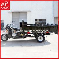 Burkina Faso Hot Cargo Tricycle Series Five Wheel 200CC Zongshen Engine Cargo Motor Tricycle
